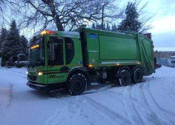 Waveney refuse collection 27.2.18 in Wrentham and Southwold