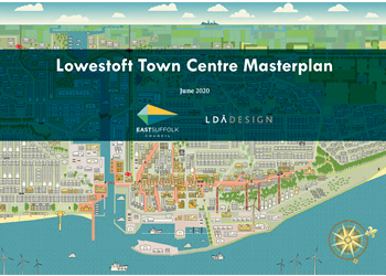 Lowestoft Town Centre Masterplan cover